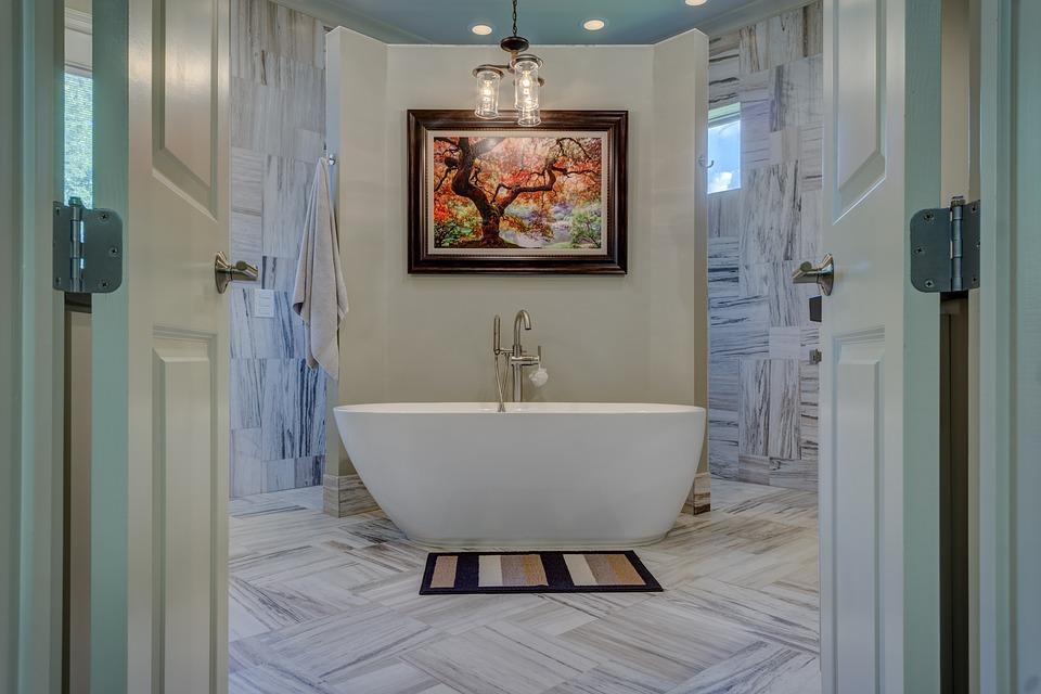 Badeværelse med marokkanske fliser